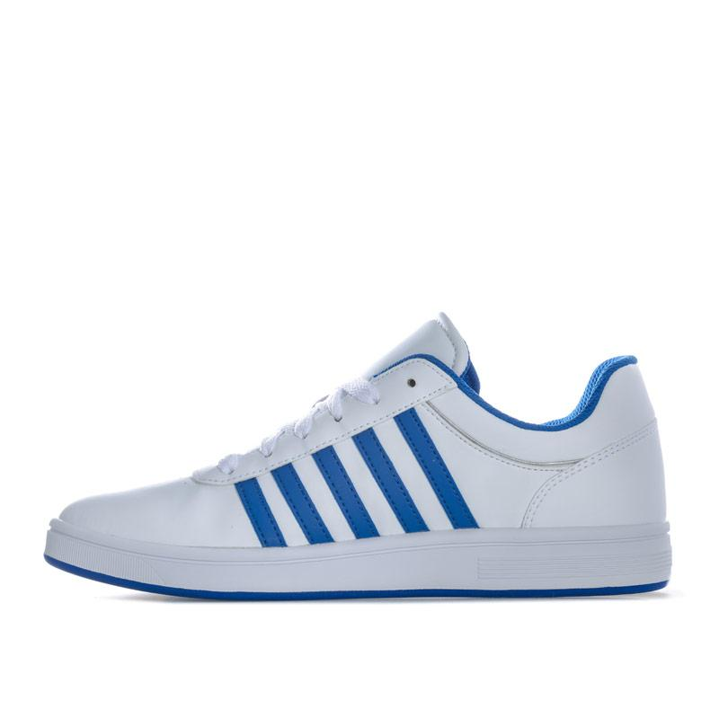 K-swiss Mens Court Cheswick S Trainers White blue