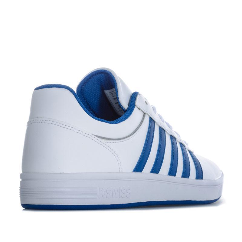 K-swiss Mens Court Cheswick S Trainers White blue