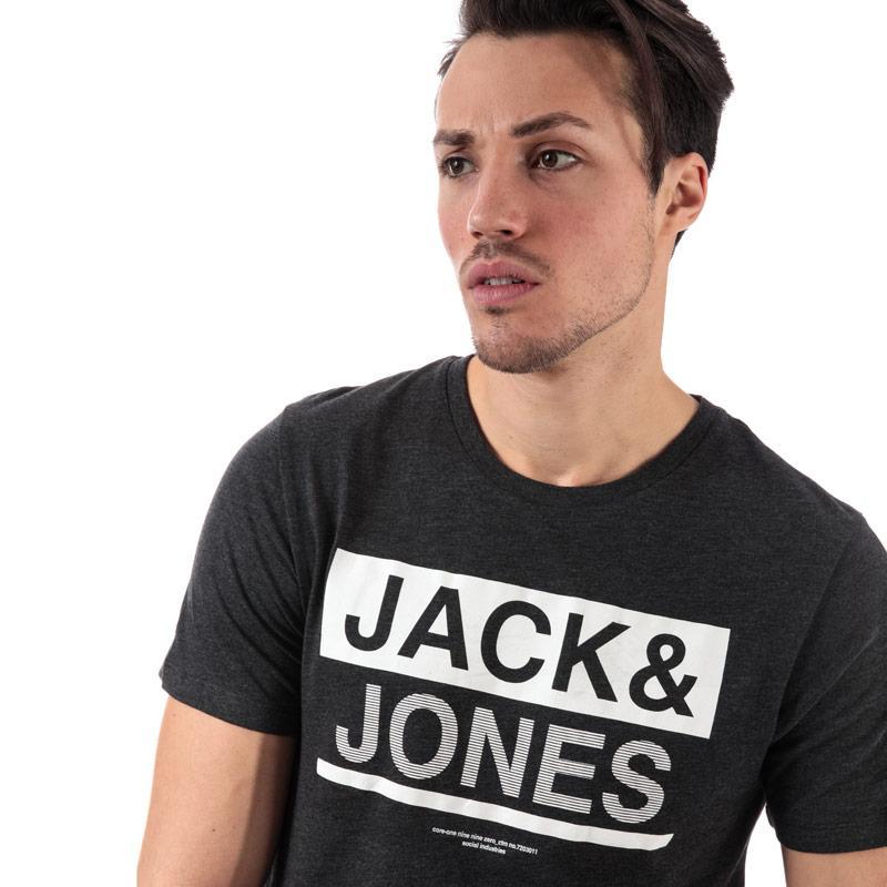 Tričko Jack Jones Mens Money T-Shirt Grey