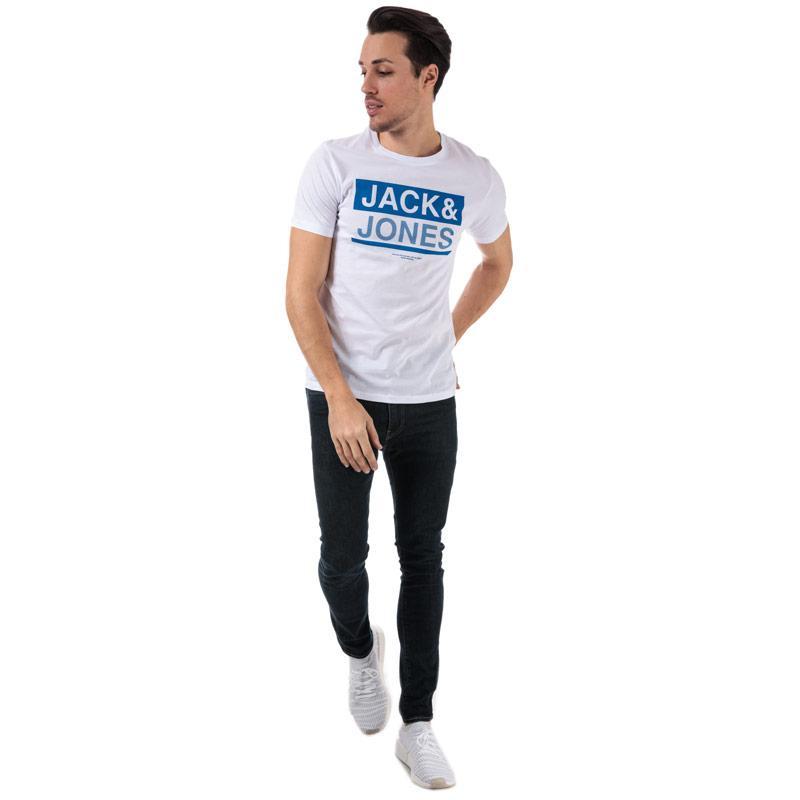 Tričko Jack Jones Mens Money T-Shirt Navy