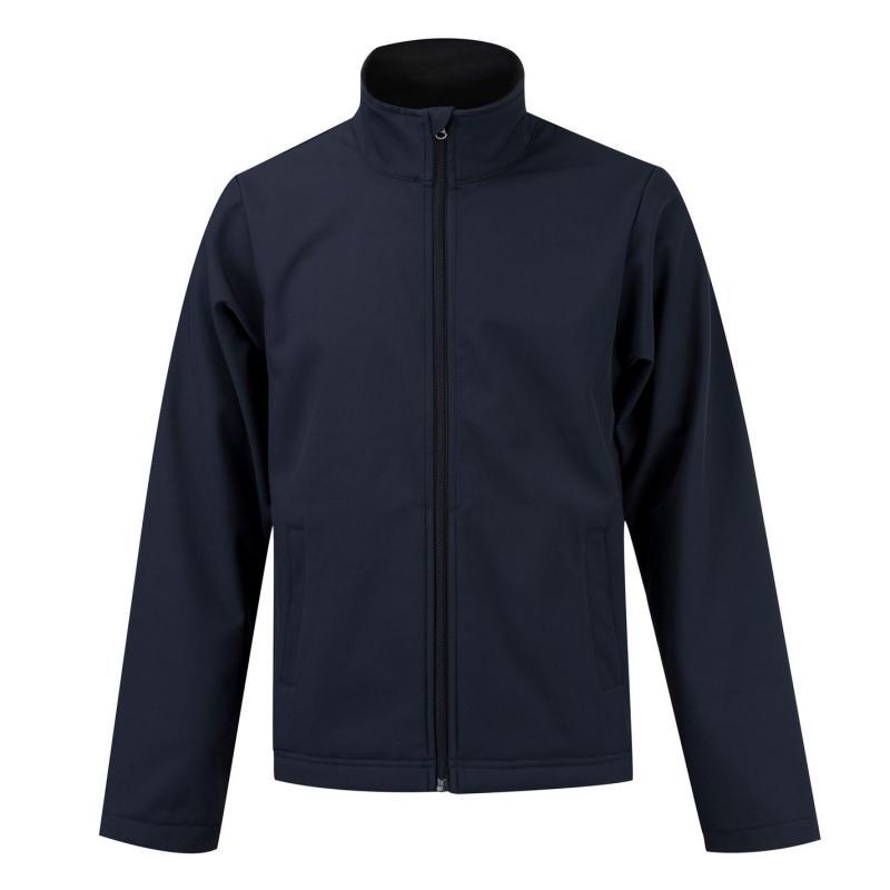 Donnay Softshell Jacket Mens Navy