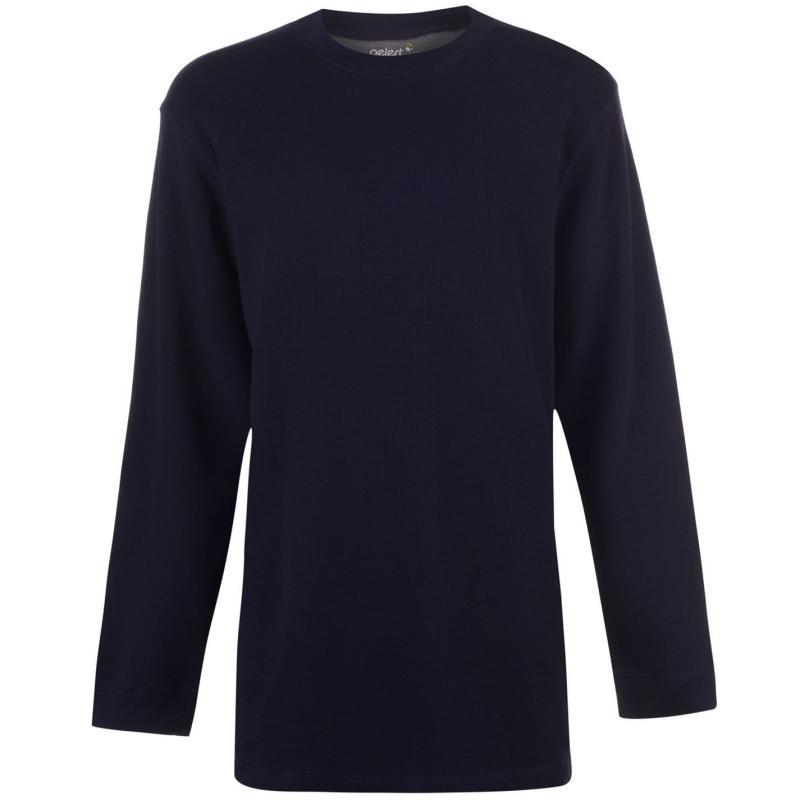 Mikina Gelert Thermal Crew Sweatshirt Mens Navy