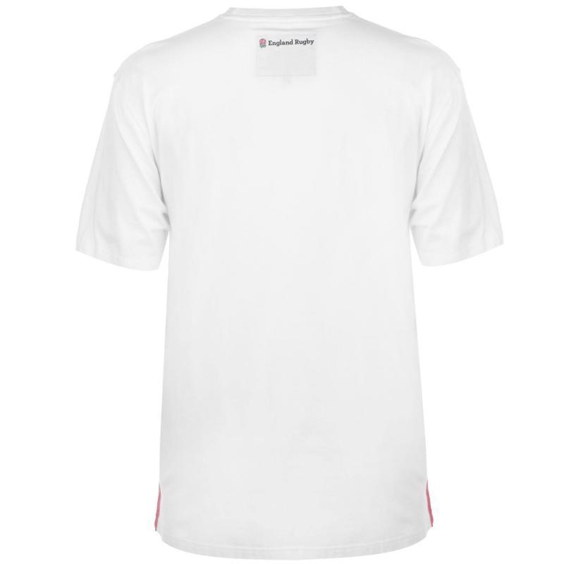 Tričko RFU Graphic T Shirt Mens Blue Photo