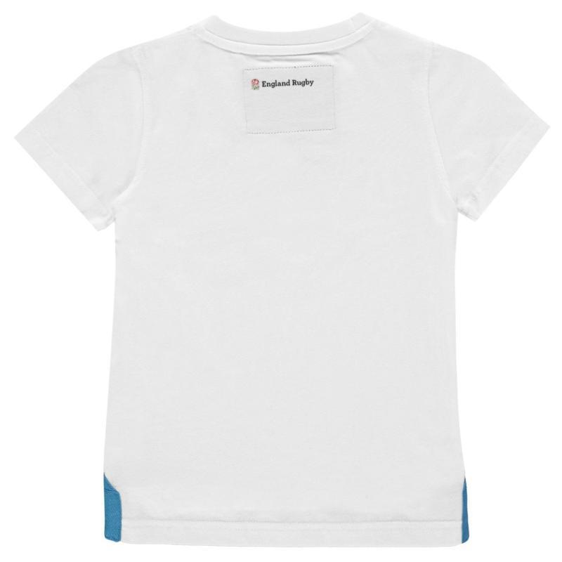 Tričko RFU Ruck and Roll T Shirt Infant Boys White