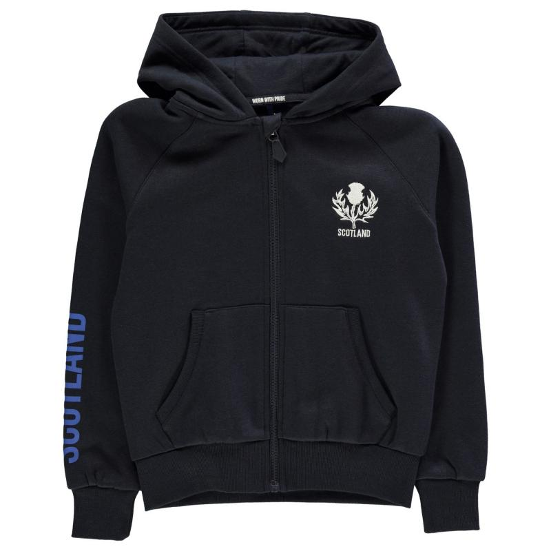 Mikina Rugby World Cup 2019 Full Zip Hoodie Junior Boys Scotland