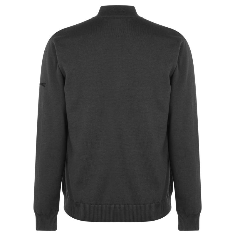 Slazenger Lined Zip Sweatshirt Mens Navy