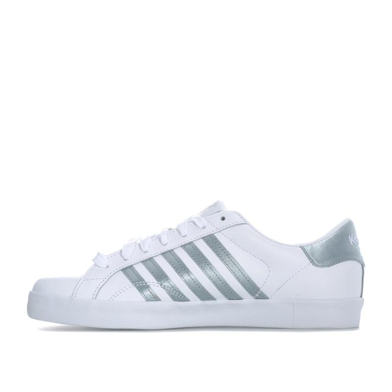K-swiss Womens Belmont SO Trainers White Grey