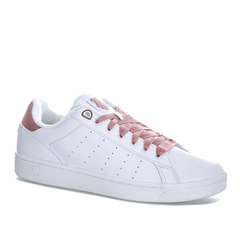 K-swiss Womens Clean Court CMF Trainers White