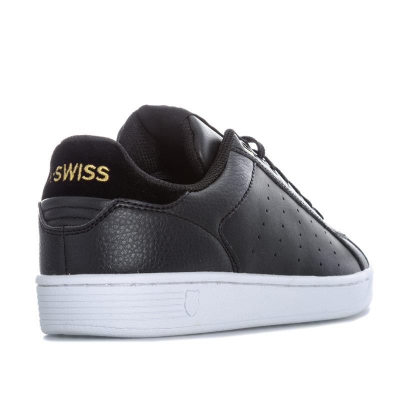 K-swiss Womens Clean Court CMF Trainers Black Gold