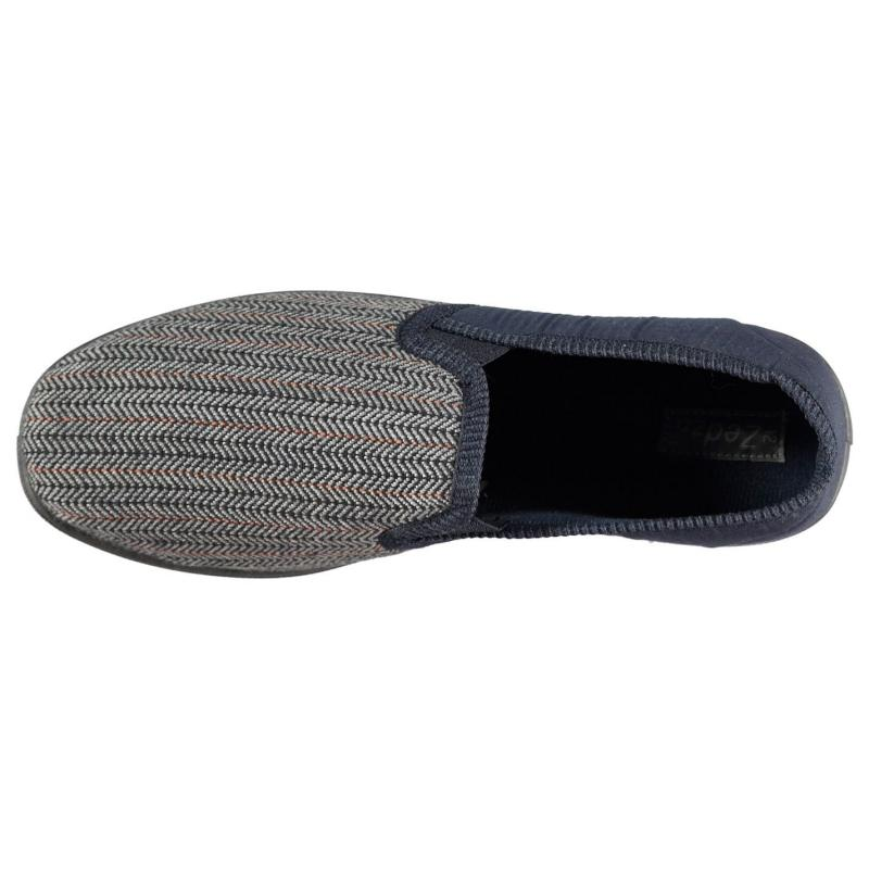 Mokkers Mens Slippers Navy