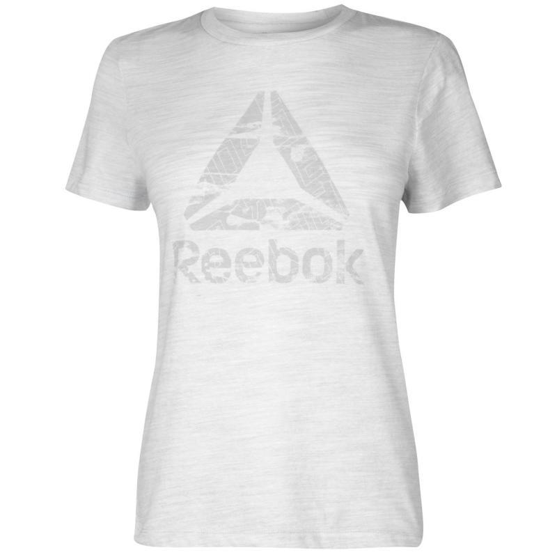 Tričko Reebok Logo T Shirt Ladies White