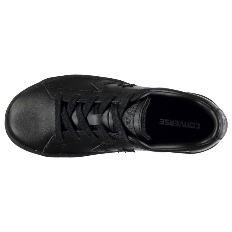 Boty CONS Pro Leather 76 Trainers Black Mono