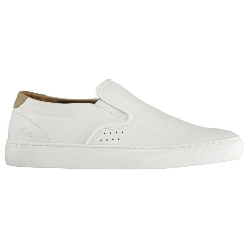 Lacoste Slip On Trainers White