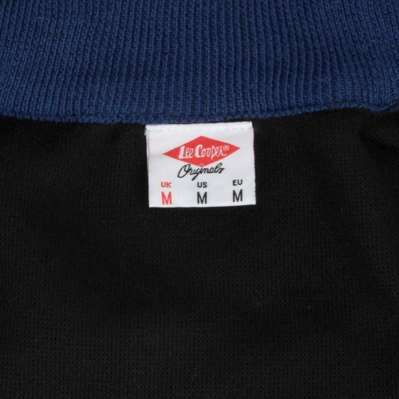 Lee Cooper Knit Jacket Mens Navy
