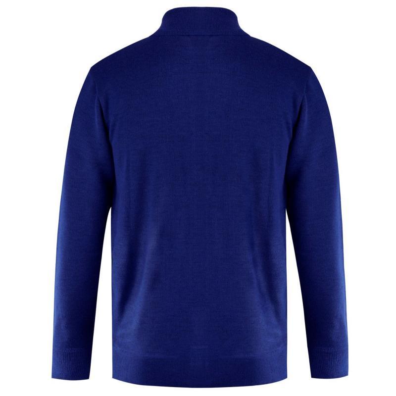 Lee Cooper Knit Jacket Mens Burgundy