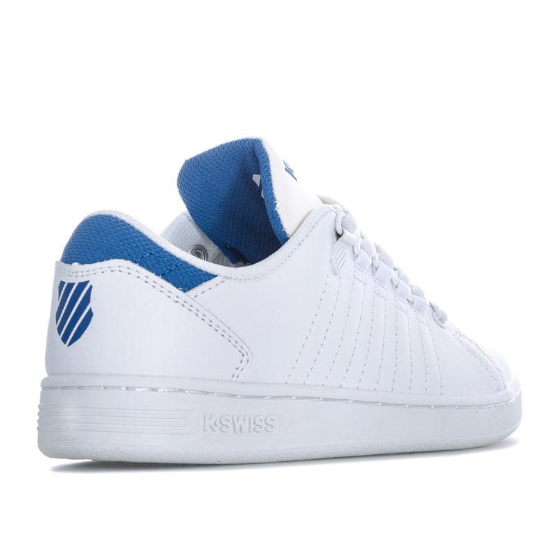 Boty K-swiss Children Boys Lozan 3 Trainers White blue