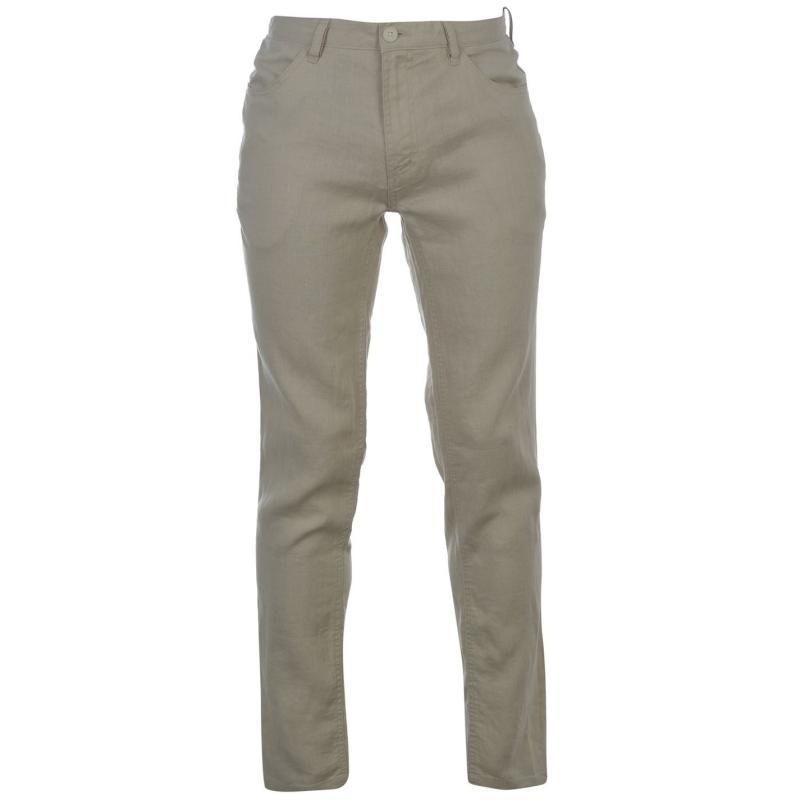 Kalhoty DKNY Four Pocket Trousers Washed Stone