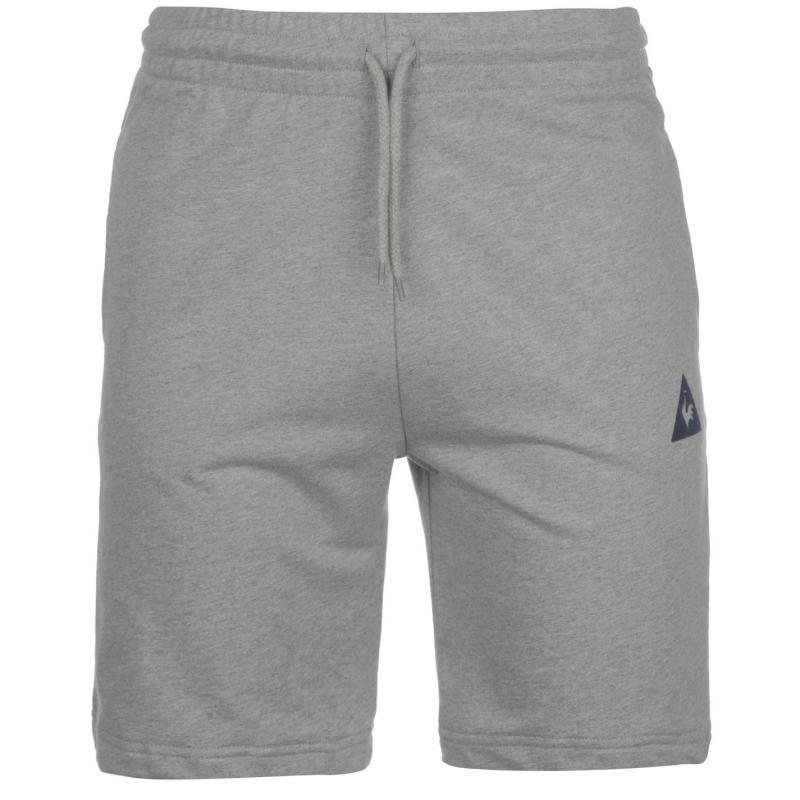 Le Coq Sportif Shorts Mens Light Grey Marl