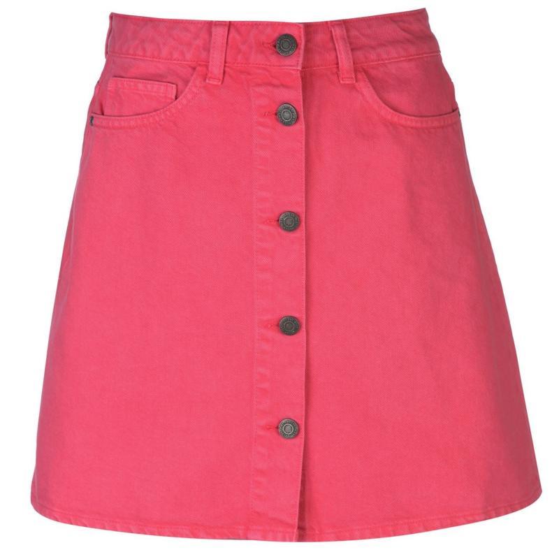 Sukně Noisy May Sunny Denim Skirt Love Potion