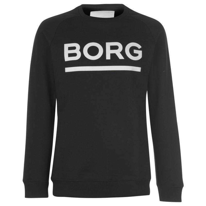 Mikina Bjorn Borg Björn Borg Large Crew Sweatshirt Mens Black