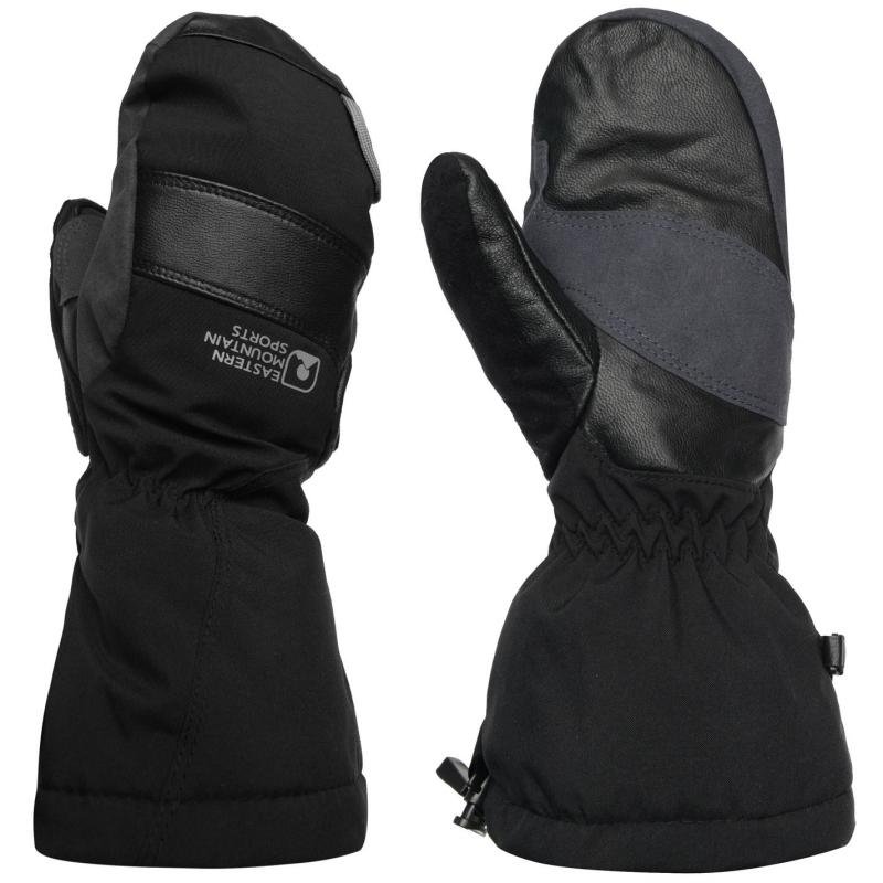 Eastern Mountain Sports Ascent Summit Mitts Mens Black