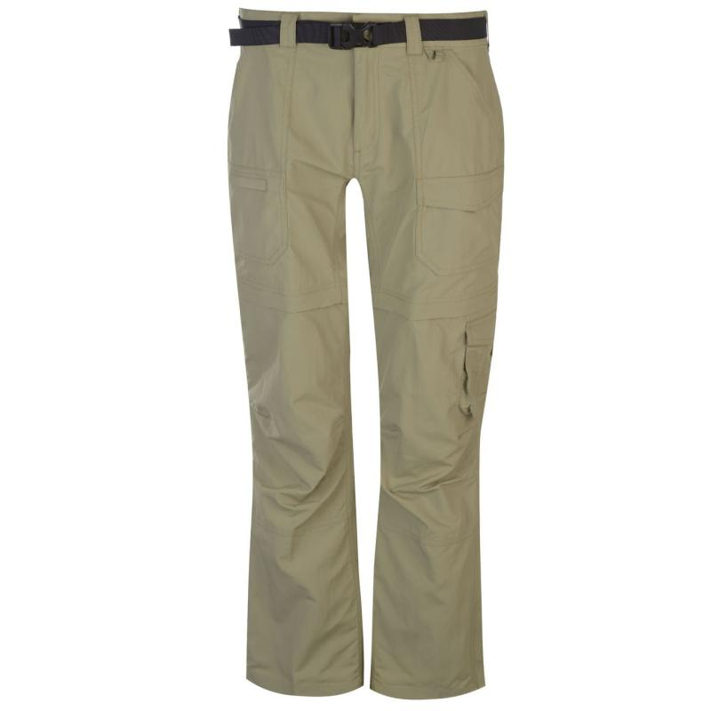 Eastern Mountain Sports Camp Cargo Zip Off Pants Ladies Toast