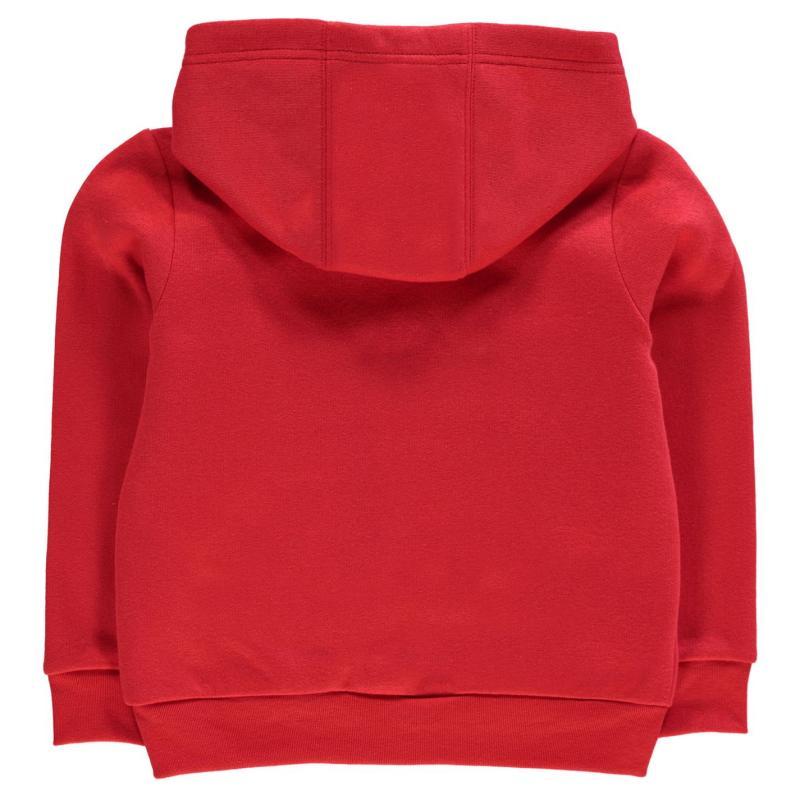 Mikina Slazenger Full Zip Hoody Infant Boys True Red