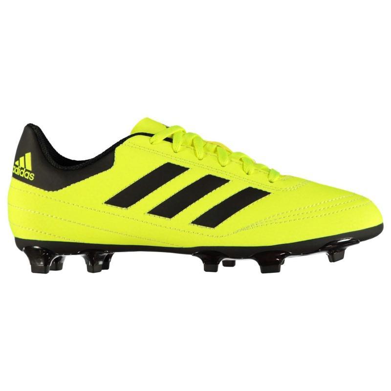 Adidas Goletto FG Childrens Football Boots SolYellow/Black