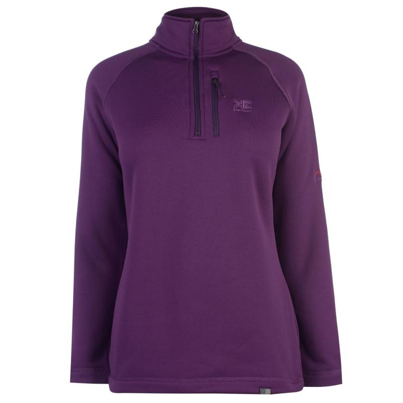 Karrimor Surge half Zip Top Ladies Grape