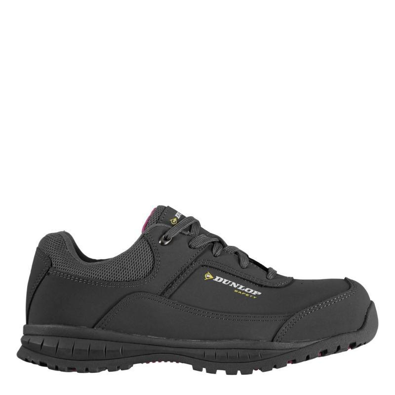 Dunlop Georgia Ladies Steel Toe Cap Safety Boots Grey