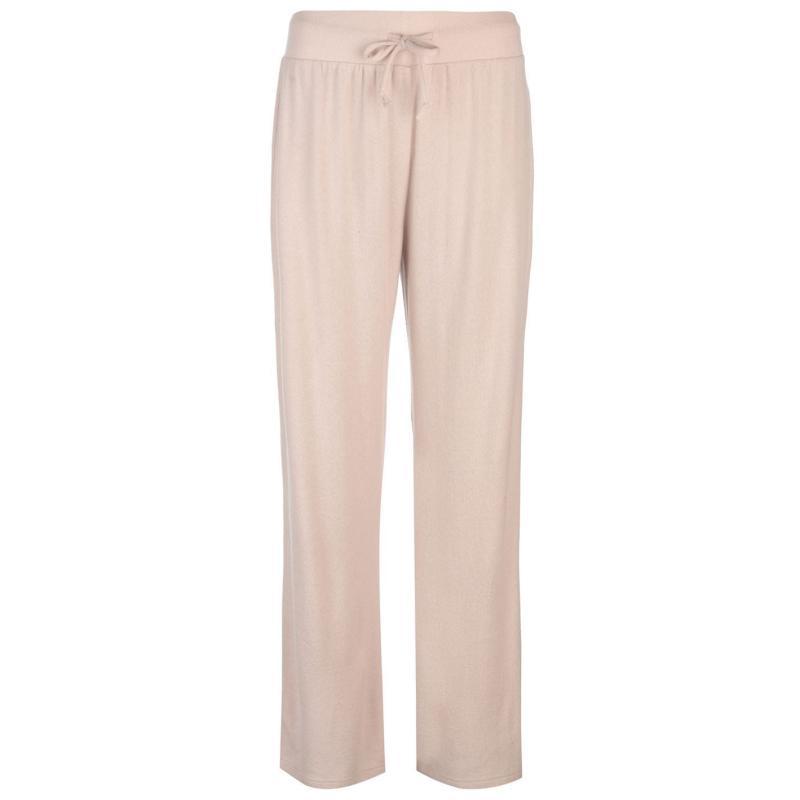 Sportovní kalhoty Golddigga Soft Fleece Relaxed Joggers Ladies Mink