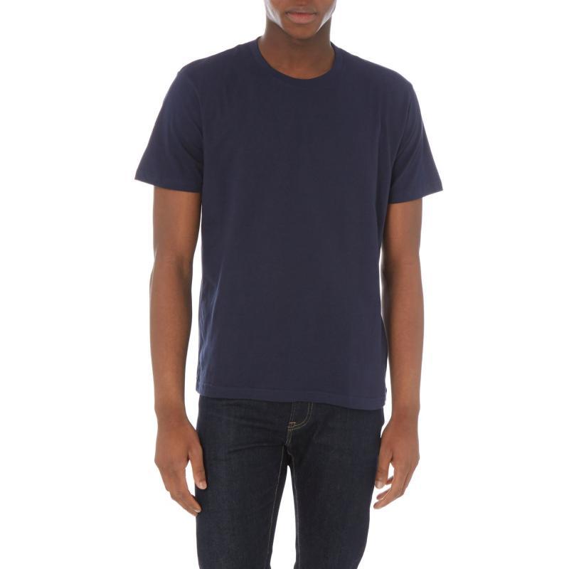 Pyžamo Howick Howick Cotton Night T Shirt Mens Navy