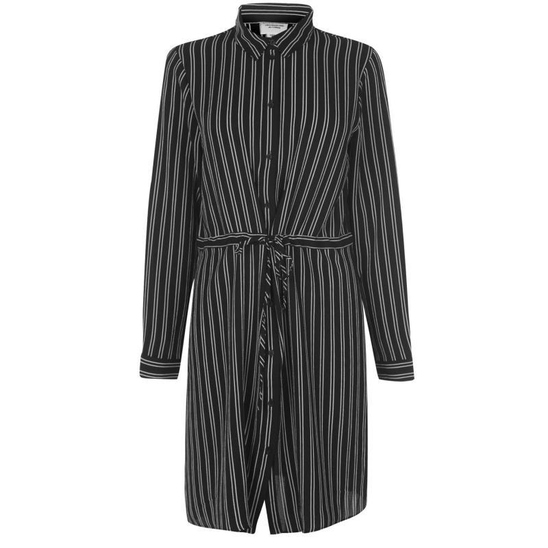 Šaty JDY Dress Blk/Wht Stripe