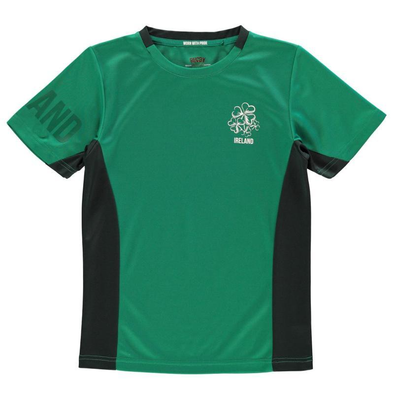 Tričko Rugby World Cup Poly T Shirt Junior Boys Ireland