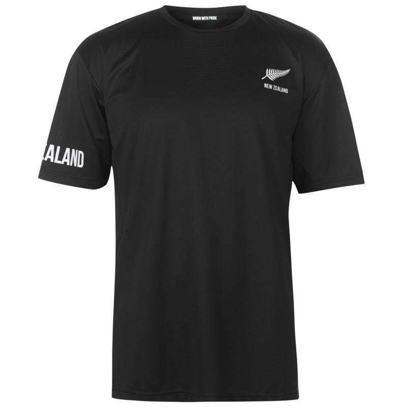 Tričko Rugby World Cup Poly T Shirt Mens New Zealand