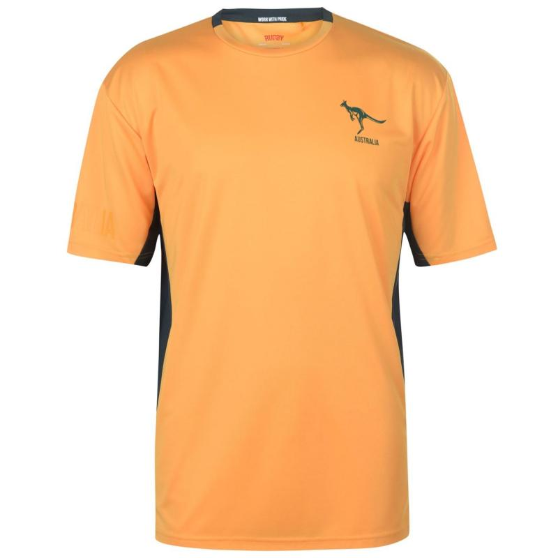 Tričko Rugby World Cup Poly T Shirt Mens Australia
