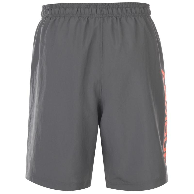 Under Armour Woven Graphic Shorts Mens Pitch Gray