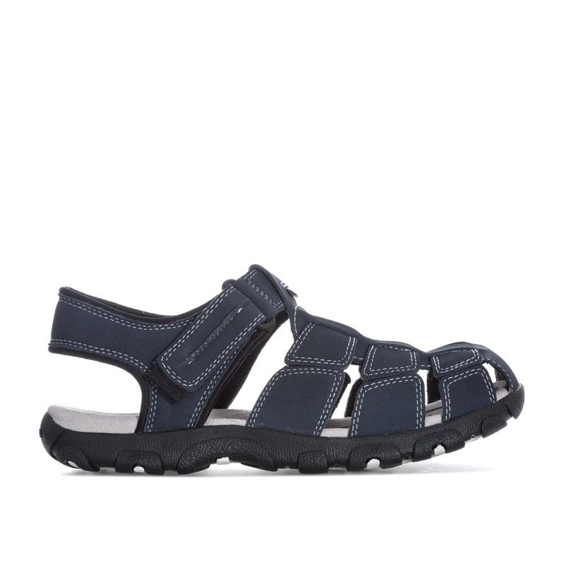 Boty Geox Children Boys Strada Sandal Navy