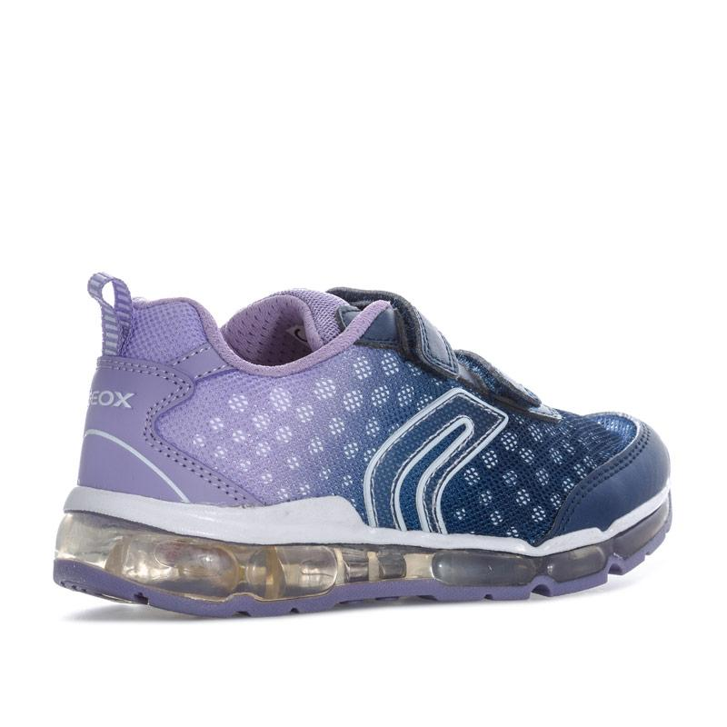 Geox Children Girls Android Trainers Navy