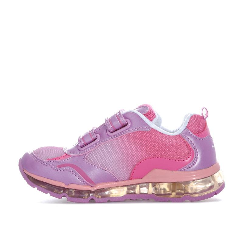 Geox Children Girls Android Trainers Pink