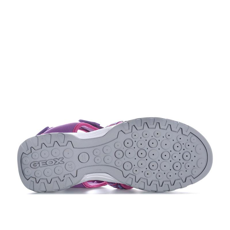 Geox Children Girls Borealis Sandals Purple