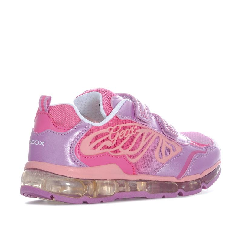 Geox Junior Girls Android Trainers Pink
