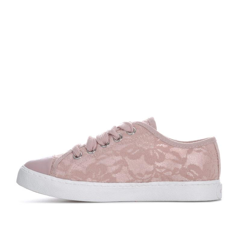 Geox Junior Girls Ciak Trainers Rose