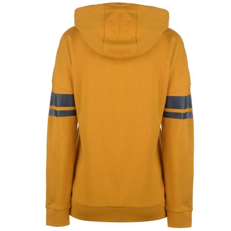Lonsdale Pánská Mikina 2 Stripe Hooded Zip Top Mens  30d914b11a3