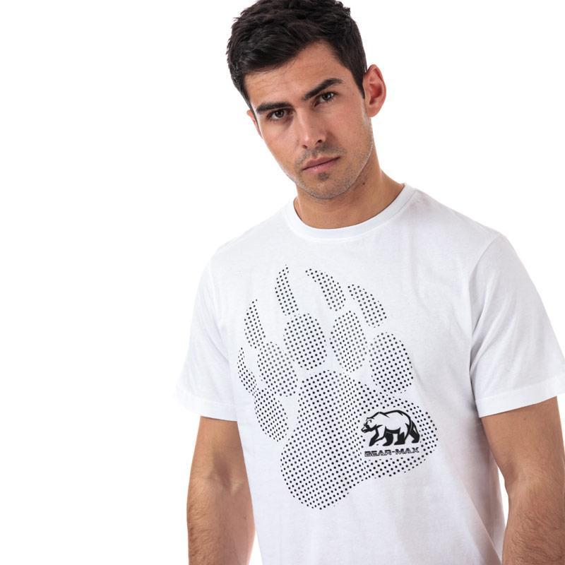 Tričko Bear Max Mens Kermode Front Graphic T-Shirt Khaki