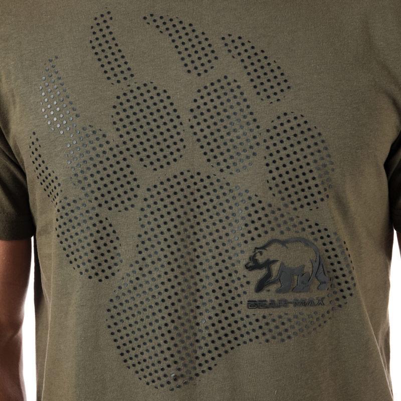 Tričko Bear Max Mens Kermode Front Graphic T-Shirt White