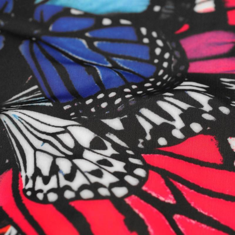 Plavky Slazenger Rebecca Adlington Curved X Back Swimsuit Ladies Butterfly