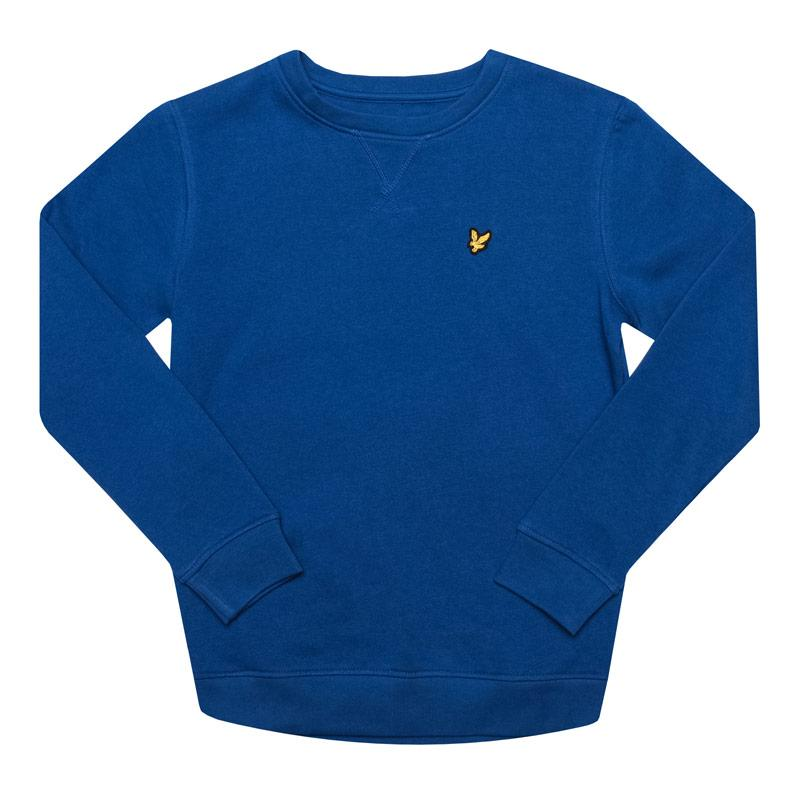 Mikina Lyle And Scott Junior Boys Classic Crew Sweat Pink