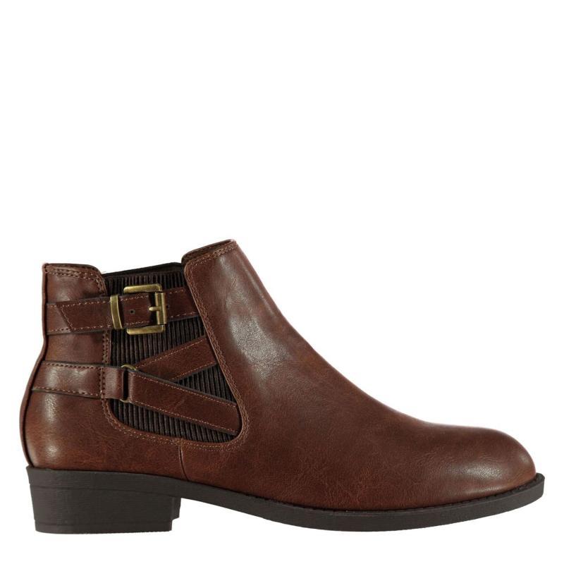 Miso Cura Ladies Boots Tan