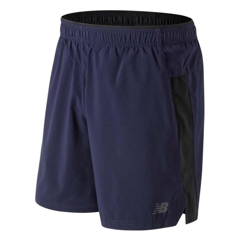 New Balance Core 2in1 Running Shorts Mens Navy